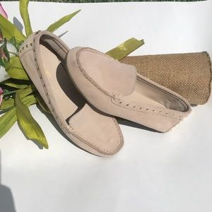 Calvin Klein Suede Studded Loafers